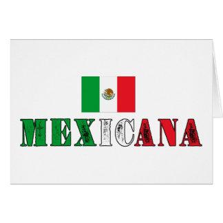 Mexicana Felicitación