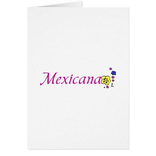 Mexicana Tarjetón