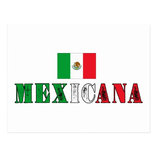 Mexicana Tarjeta Postal