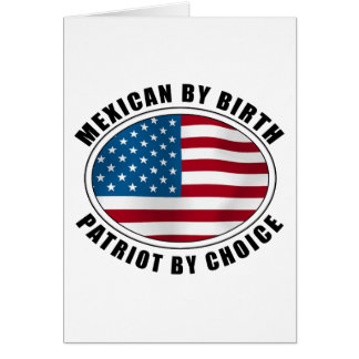 Mexicano del patriota del nacimiento por la opción felicitación