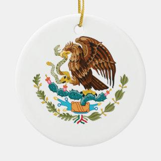 Mexicano Eagle y serpiente Adorno De Cerámica