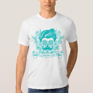 Mexicano (turquesa) camisetas