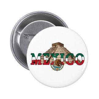 MÉXICO CHAPA REDONDA DE 5 CM
