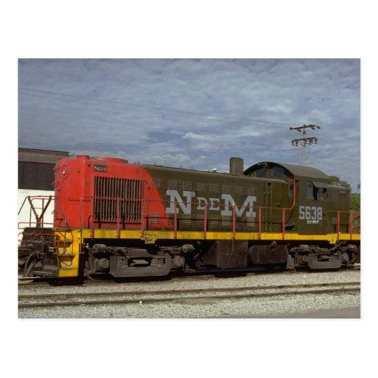 México, diesel de N De M Alco RS-1 Postal