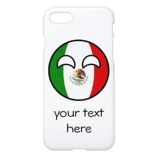 México Geeky que tiende divertido Countryball Funda Para iPhone 8/7
