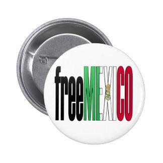 México libre pins