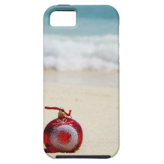 México, Playa del Carmen, decoración del navidad iPhone 5 Case-Mate Fundas
