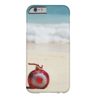 México, Playa del Carmen, decoración del navidad Funda Para iPhone 6 Barely There