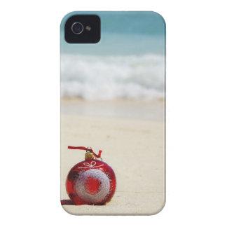 México, Playa del Carmen, decoración del navidad iPhone 4 Fundas