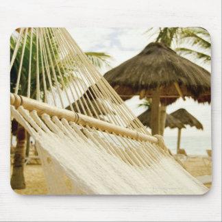 México, Playa del Carmen, hamaca en la playa Alfombrillas De Raton