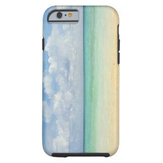 México, Playa del Carmen, paisaje marino 2 Funda Para iPhone 6 Tough