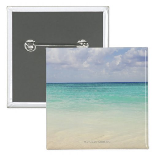 México, Playa del Carmen, paisaje marino Pins