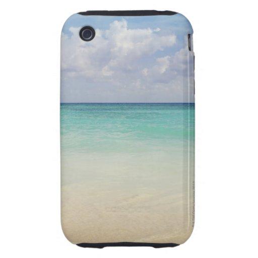 México, Playa del Carmen, paisaje marino iPhone 3 Tough Coberturas