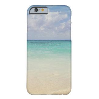 México, Playa del Carmen, paisaje marino Funda De iPhone 6 Barely There