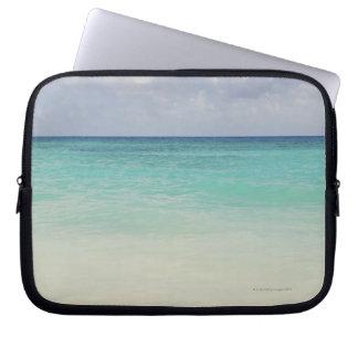 México, Playa del Carmen, paisaje marino Fundas Portátiles