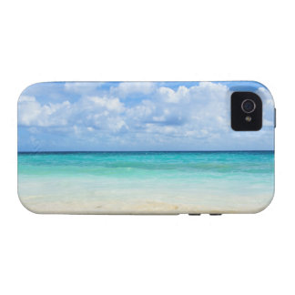 México, Playa del Carmen, playa tropical iPhone 4/4S Carcasa