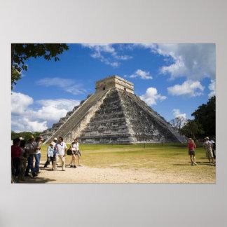 México, Quintana Roo, cerca de Cancun, Chichen 4 Póster