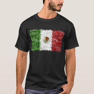 México textual camiseta