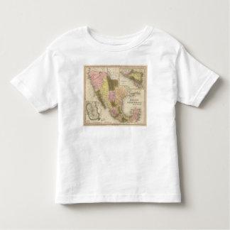 México y Guatemala 5 Camiseta De Bebé
