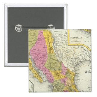 México y Guatemala Pin