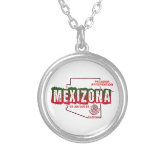 MEXIZONA COLLAR PLATEADO