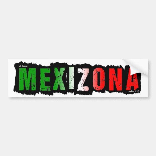 MEXIZONA PEGATINA PARA COCHE