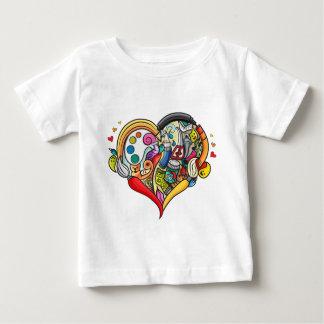 Mezcla Camiseta De Bebé