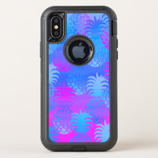 Mezcla hawaiana de la puesta del sol de la piña de