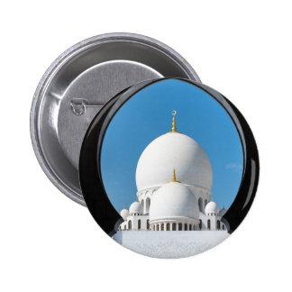 Mezquita 2 de jeque Zayed Chapa Redonda 5 Cm