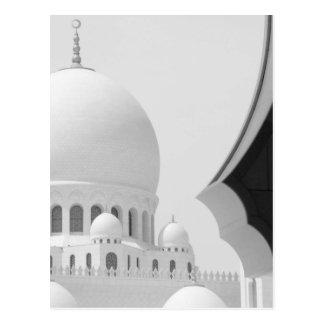 Mezquita 3 de jeque Zayed Postal