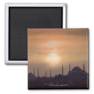 Mezquita azul y Hagia Sophia Turquía, Estambul Iman
