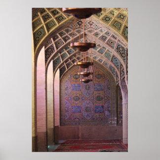 Mezquita de Mulk del al de Nasir Impresiones