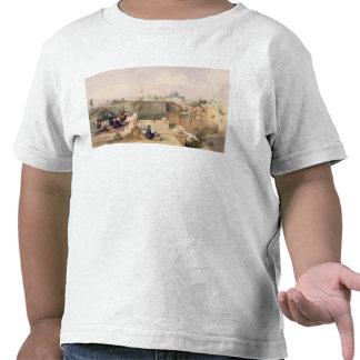 Mezquita de Omar que muestra el sitio del templo Camiseta