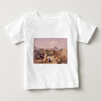 Mezquita de Omar Shewing el sitio del templo Camiseta Para Bebé