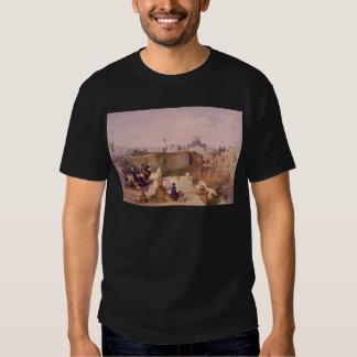 Mezquita de Omar Shewing el sitio del templo Camisetas