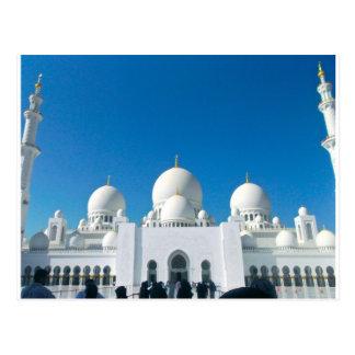 Mezquita en Abu Dhabi Postal