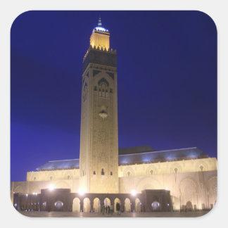 Mezquita Pegatina Cuadrada