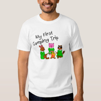 Mi 1ra acampada camisas