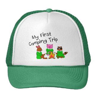 Mi 1ra acampada gorra