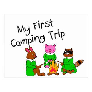Mi 1ra acampada postal