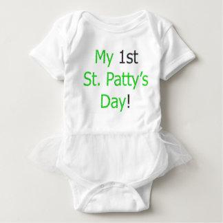 ¡Mi 1ra día del St. Patty! Body Para Bebé