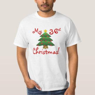 """¡""""Mi 36.o navidad""""… o cualquier año usted quiere! Camiseta"""