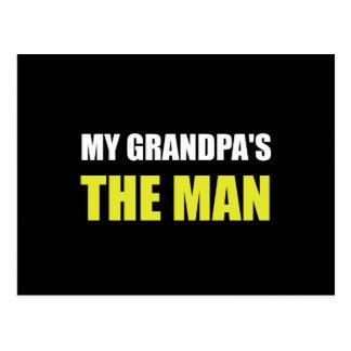 Mi abuelo es el hombre postal