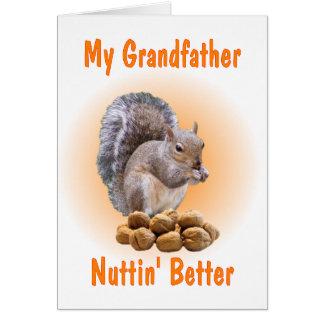 Mi abuelo tarjeta de felicitación
