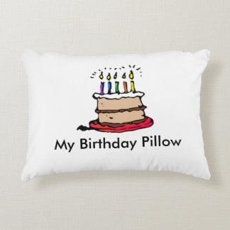 ¡Mi almohada del cumpleaños! Gran recuerdo
