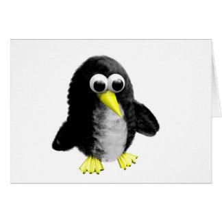 Mi amigo el pingüino tarjeta