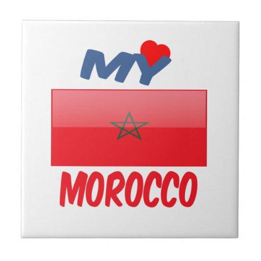 Mi amor Marruecos Azulejo Ceramica