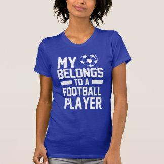 mi amor pertenece a un futbolista camiseta