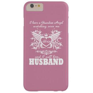 Mi ángel de guarda, mi marido funda de iPhone 6 plus barely there