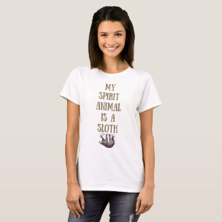 Mi animal del alcohol es una camisa de la pereza